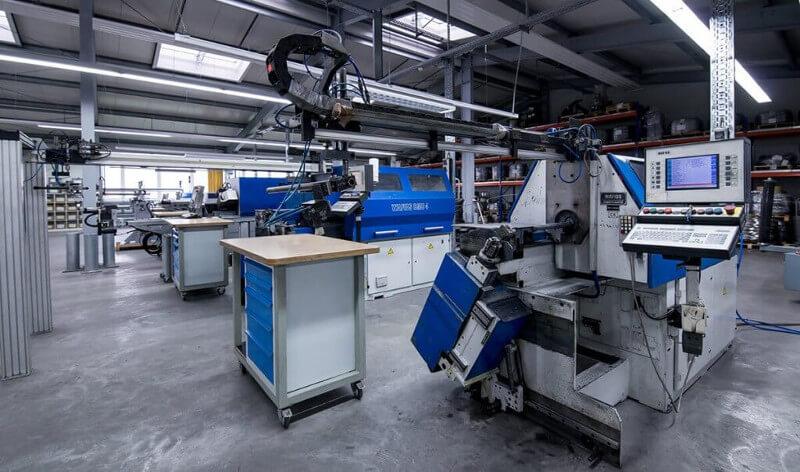 Hinterdobler Fabrikations GmbH | CNC Biegezentrum mit Drahtbiegeautomaten der neuesten Generation