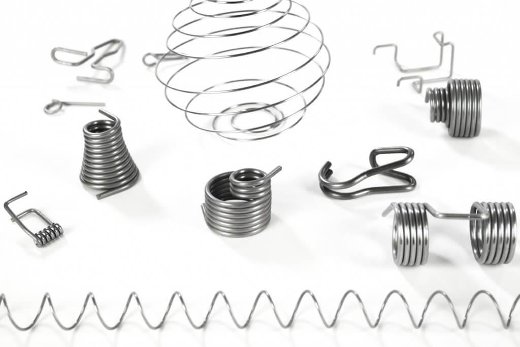 Hinterdobler Fabrikations GmbH | Drahtfedern: Federn, Spiralen und Klammern aus Draht | Durchmesser 1 bis 3 mm