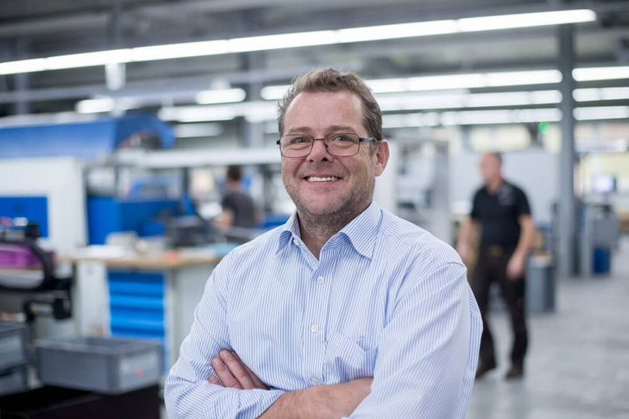 Hinterdobler Fabrikations GmbH | Geschäftsführer Walter Hinterdobler Junior