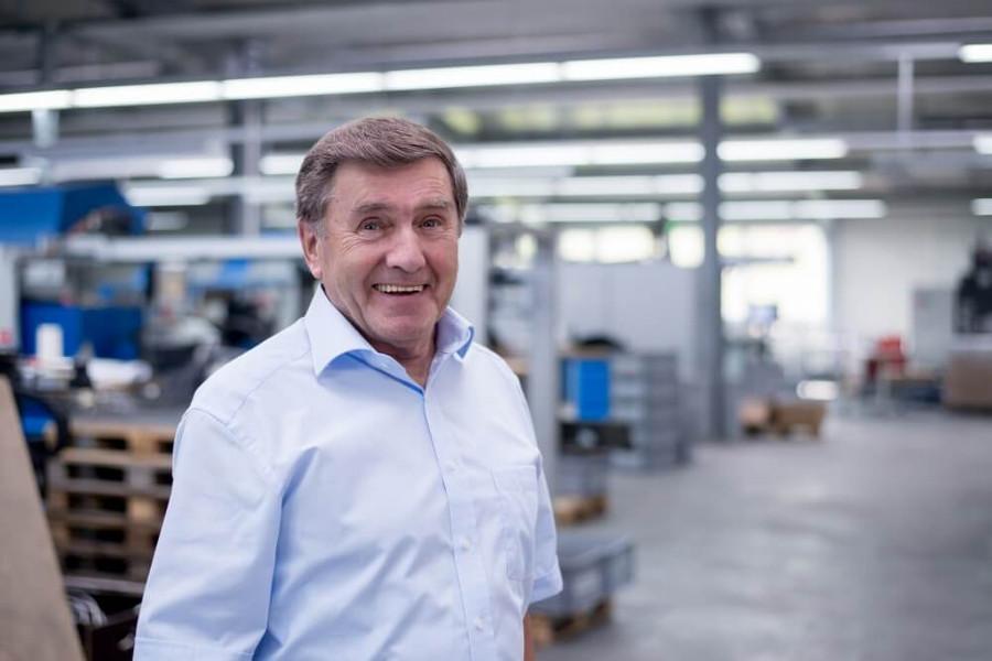 Hinterdobler Fabrikations GmbH | Firmengründer Walter Hinterdobler Senior